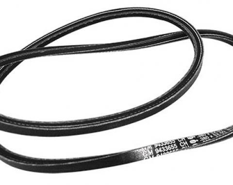Corvette Belt, Alternator, Reproduction, 1975-1980