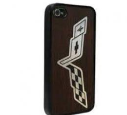 Corvette iPhone 6, Rubber Case, with C6 Logo