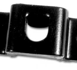 Corvette Spare Tire Carrier Lock Bolt Bracket, Rear, 1963-1967