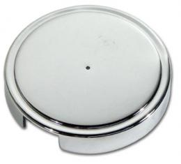 Corvette Washer Reservoir Cap Cover, Chrome, 1997-2001