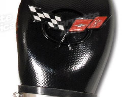 Corvette Vortex Power Duct, with Emblem, 2001-2004