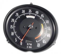 Corvette Tachometer, 195600 RPM, 1972-1974