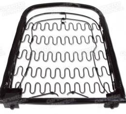 Corvette Seat Frame Back - Left or Right, 1964