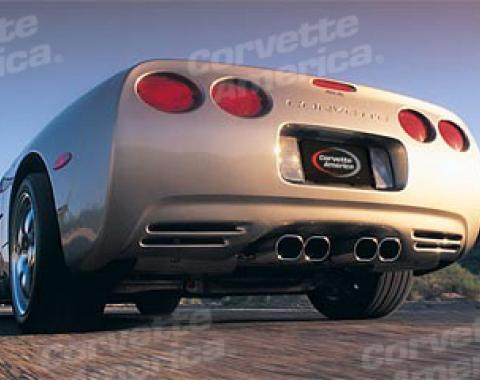 Corvette Rear Bumper, Stock Design, Fiberglass, ACI, 1997-2004