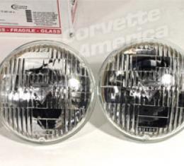 Corvette Headlight Bulbs, T3 Set Of 4, 1968-1971