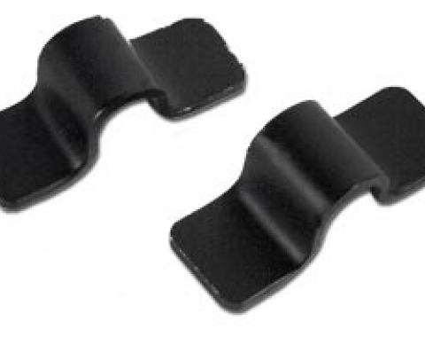 Corvette Rad Support Cross Rod Lower Straps, 1963-1965