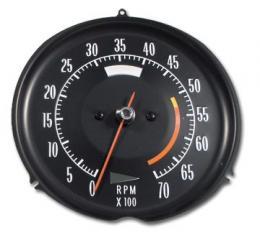 Corvette Tachometer, 5300 RPM, 1972-1974