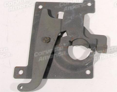 Corvette Hood Latch Plate, Left, 1970-1976