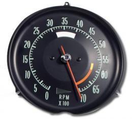 Corvette Tachometer, 6000 RPM, 1968