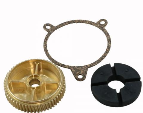 Corvette Headlight Motor Bronze Gear Repair Kit, 1997-1999
