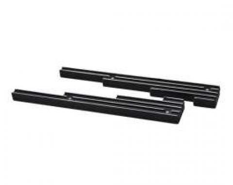 Billet Aluminum 9.5 MM Wire Loom Set, Finned, Black
