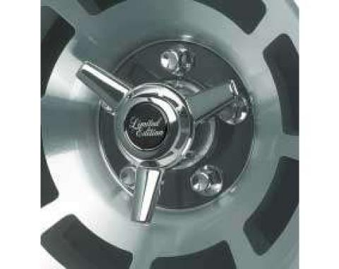 Corvette Spinner Kit, for Factory Aluminum Wheels, 1976-1982