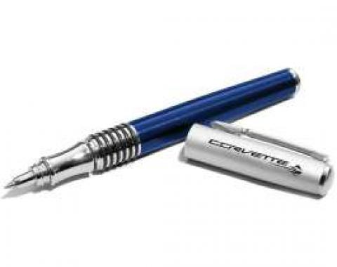 Corvette C7 Stingray Rollerball Blue Pen