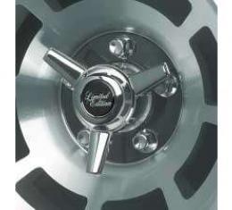Corvette Spinner Kit, for Factory Aluminum Wheels, 1976-1982