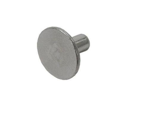 "Body Assembly Rivet, 3/16"" Aluminum Large Flat Head, 3/8"" Long"