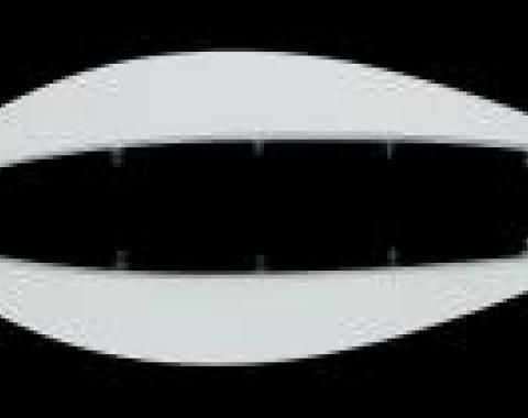 Corvette Front Facia, Winglets,  ACI, 1997-2004