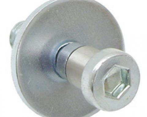 Classic Headquarters Door Lock Striker, Correct W-774