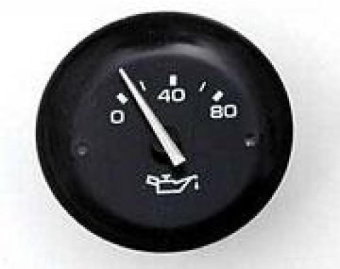Corvette Oil Pressure Gauge, 1978-1982