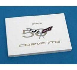 Corvette Owners Manual, 2003