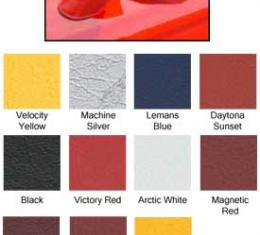 Corvette Mirror Covers, Speed Lingerie, Victory Red,  2005-2009