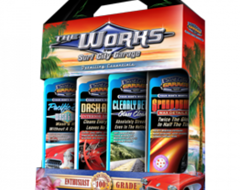The Works Detailing Essentials, Surf City Garage
