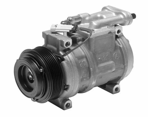 Corvette Air Conditioning Compressor & Clutch, Denso, 1988-1993
