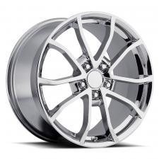 Factory Reproductions FR25 C6 Cup Corvette Replica Wheel, Chrome / 20x12 / +59 25012593401
