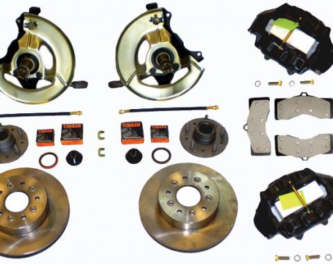 Corvette Front Disc Brake Conversion Kit, 1963-1964