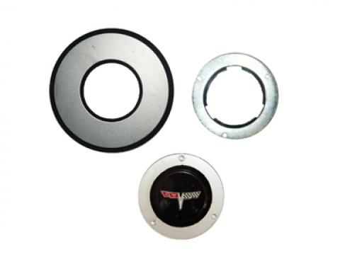 Corvette Horn Button Assembly, 1980-1981