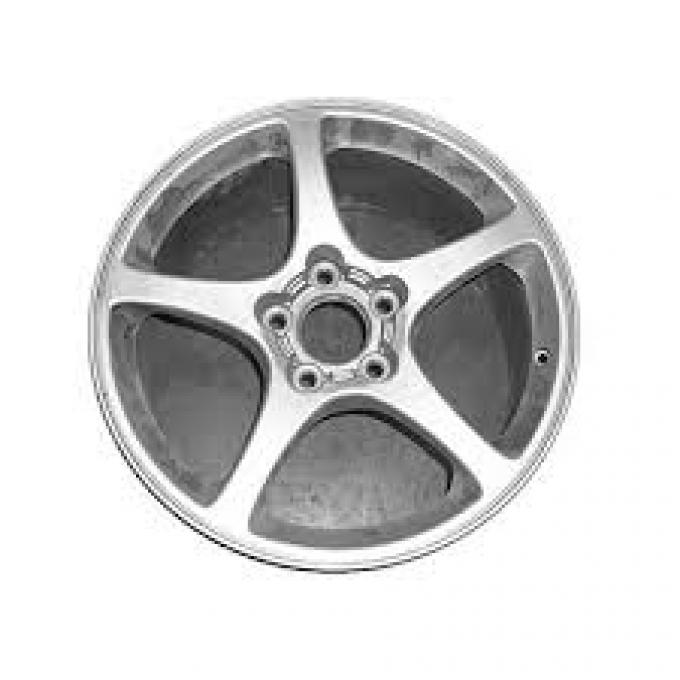 Corvette Wheel, 50th Anniversary, Remanufactured, 17x8.5, 2003
