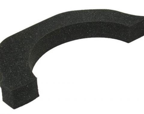 Corvette Transmission Tunnel Heat Shield, Foam Collar, 1968-1979