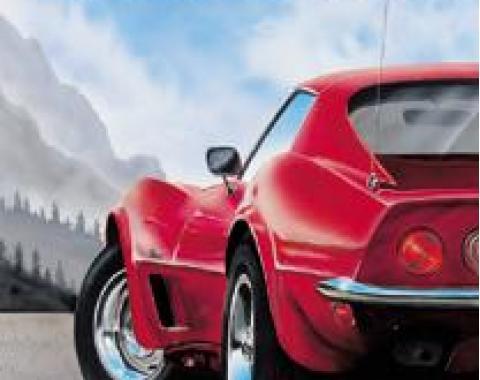 Corvette State of Mind Tin Sign