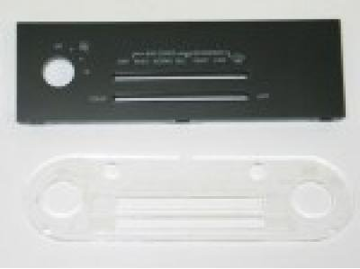 Corvette Heater & Air Conditioning Control Face, without Defrost, 1985-1989