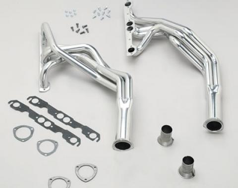 Corvette Hedman Street Headers, Big Block, Ceramic Coated, 1968-1974