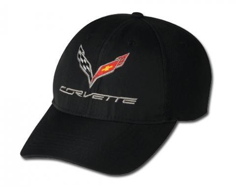 Corvette C7 Coolmax Cap, Black