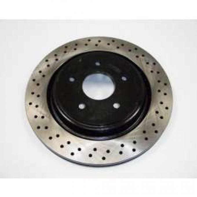 Corvette Rear Brake Rotor With Z51 Suspension, 2005-2013