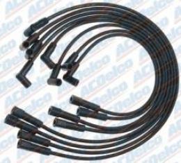Corvette Spark Plug Wire Set, Big Block, With HEI Distributor, AC Delco, 1965-1974
