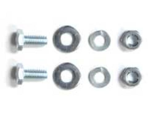 Corvette License Plate Bracket Bolt Kit, 1953-1972