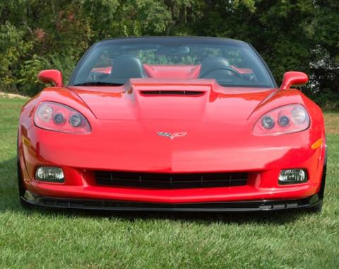 Corvette Front Chin Spoiler with Dual Screens, 2005-2013