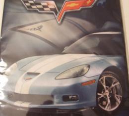 Corvette C6 Stretchable Fabric Book Cover