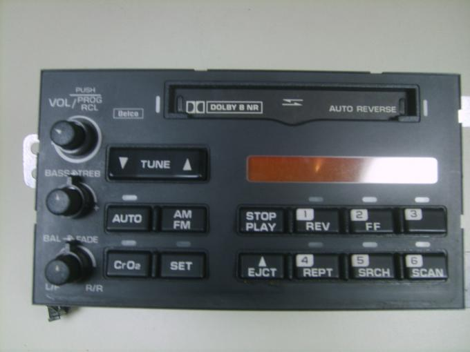 Corvette Radio, Remanufactured, 1994-1996