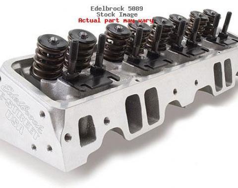 Corvette Edelbrock E-Street Aluminum Cylinder Heads, 1963-1986