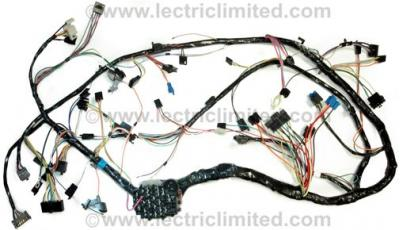 Corvette Dash Wiring Harness, Manual, 1981