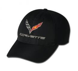 Corvette C7 Coolmax Cap, Black