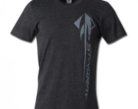 Corvette C7 Heather Black Stingray T-Shirt