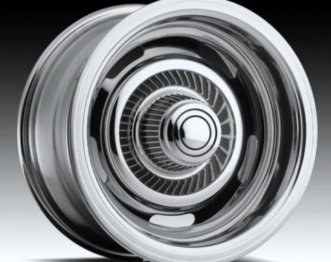 "Corvette Rally Wheel Kit, Chrome, 15"" x 8"", 1969-1982"
