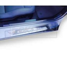 Corvette Stingray Door Sill Protectors, 2014-2019