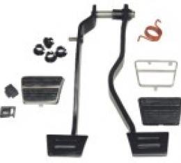Corvette Brake and Clutch Pedal Kit, 1968-1979