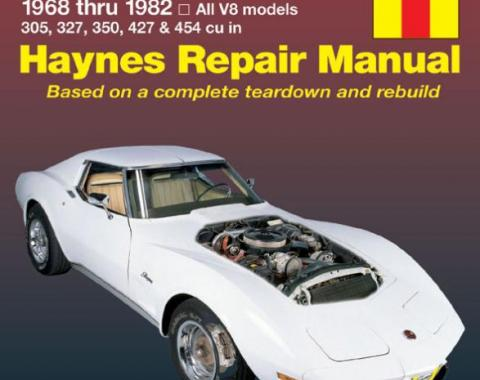 Corvette Haynes Repair Manual, 1968-1982