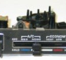 Corvette Heater & Air Conditioning Control Assembly, 1980-1982